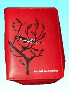 Portefeuille geais rouge