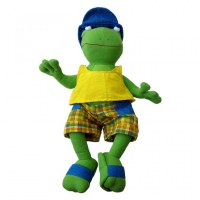 Grenouille en short