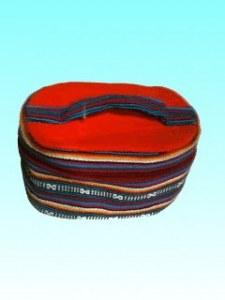 Trousse toilette ovale coton GM