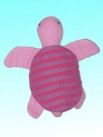 Pink tortoise softtoy