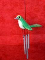 Carillon petit oiseau vert