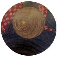 Sous-verre en bois de sonokeling
