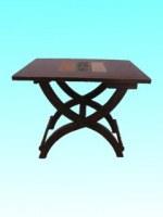 Table pliante motifs 3 bandes