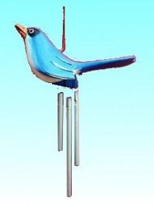 Carillon petit  oiseau bleu