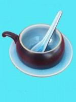 Tasse à Café ronde turquoise