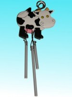 Suspension carillon vache