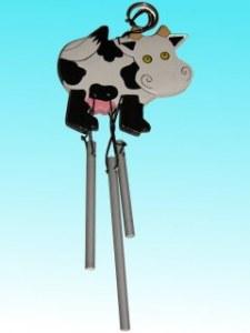 Suspension carillon vache