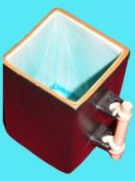 Mug céramique turquoise
