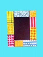 Cadre photo patchwork