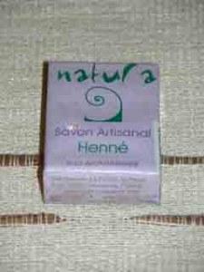 Savon Indien Natura Henné