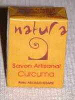 Savon Indien Natura Curcuma